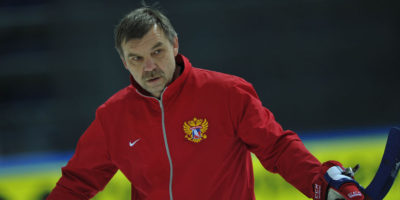 Олег Знарок - главный тренер СКА и сборной России