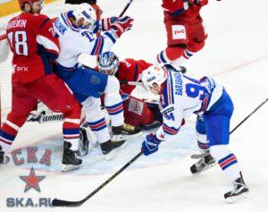 Гол Барабанова в овертайме третьего матча - один из ключевых моментов серии